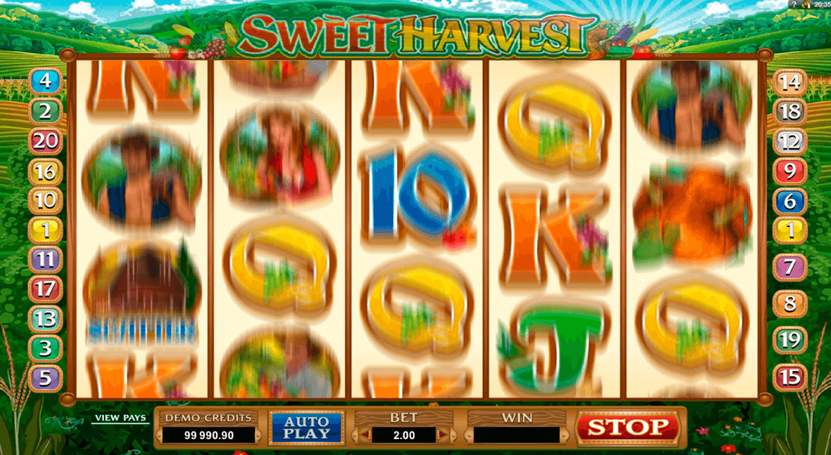 sweet harvest microgaming automat pa nett