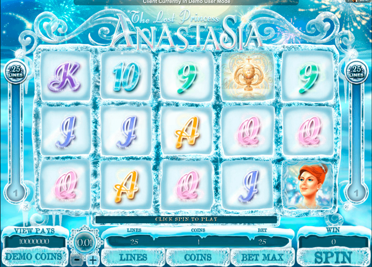 the lost princess anastasia microgaming automat pa nett
