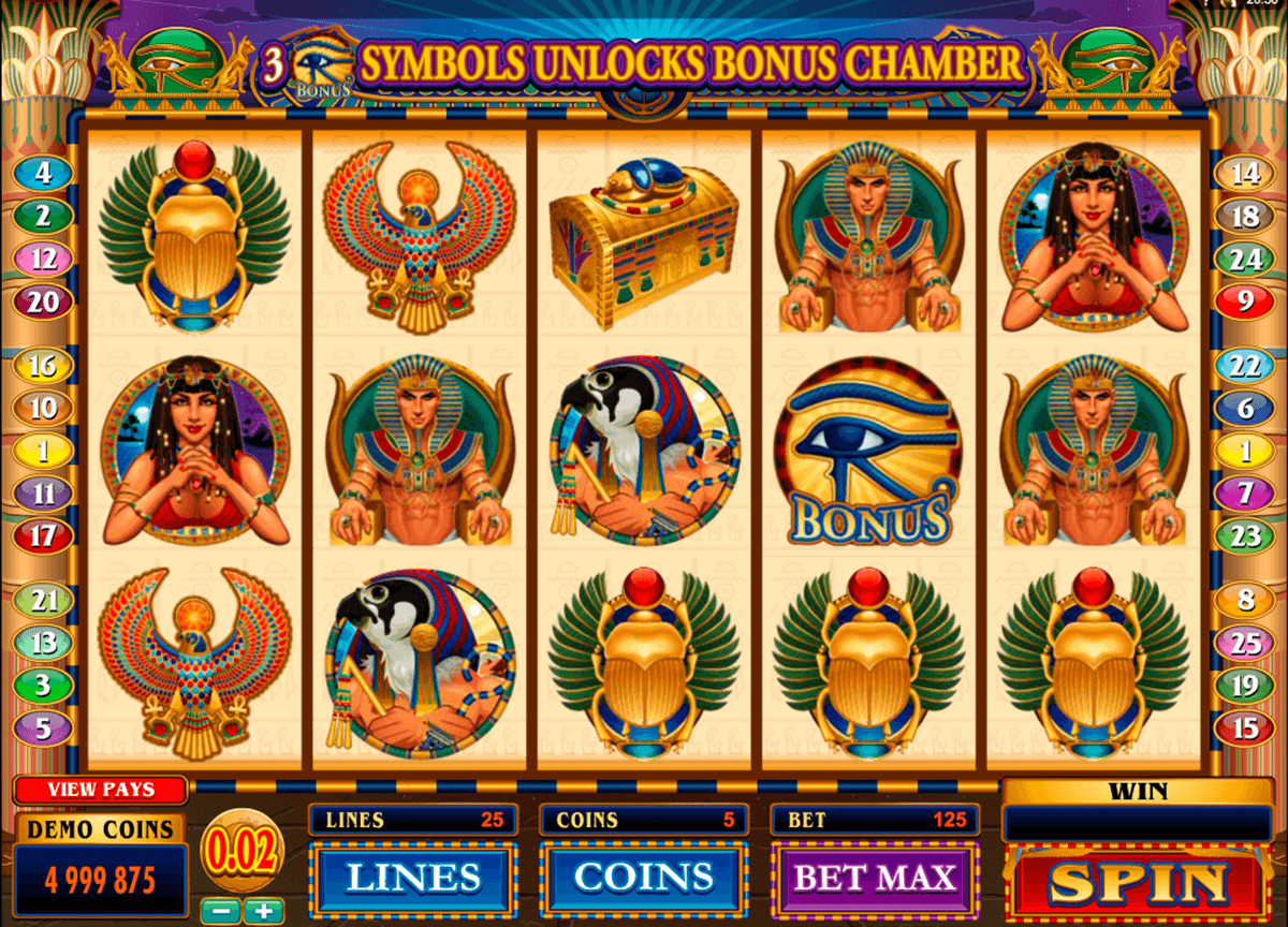 throne of egypt microgaming automat pa nett