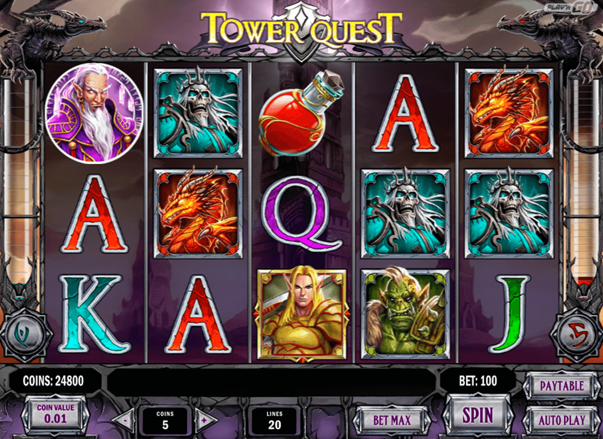 tower quest playn go automat pa nett