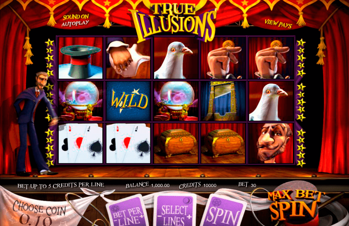 true illusions betsoft automat pa nett