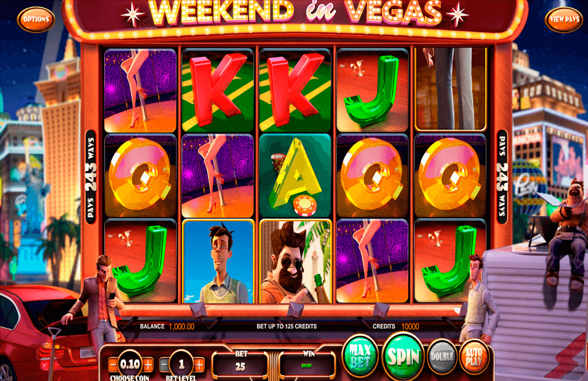 weekend in vegas betsoft automat pa nett