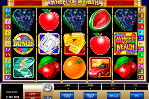 wheel of wealth special edition microgaming automat pa nett