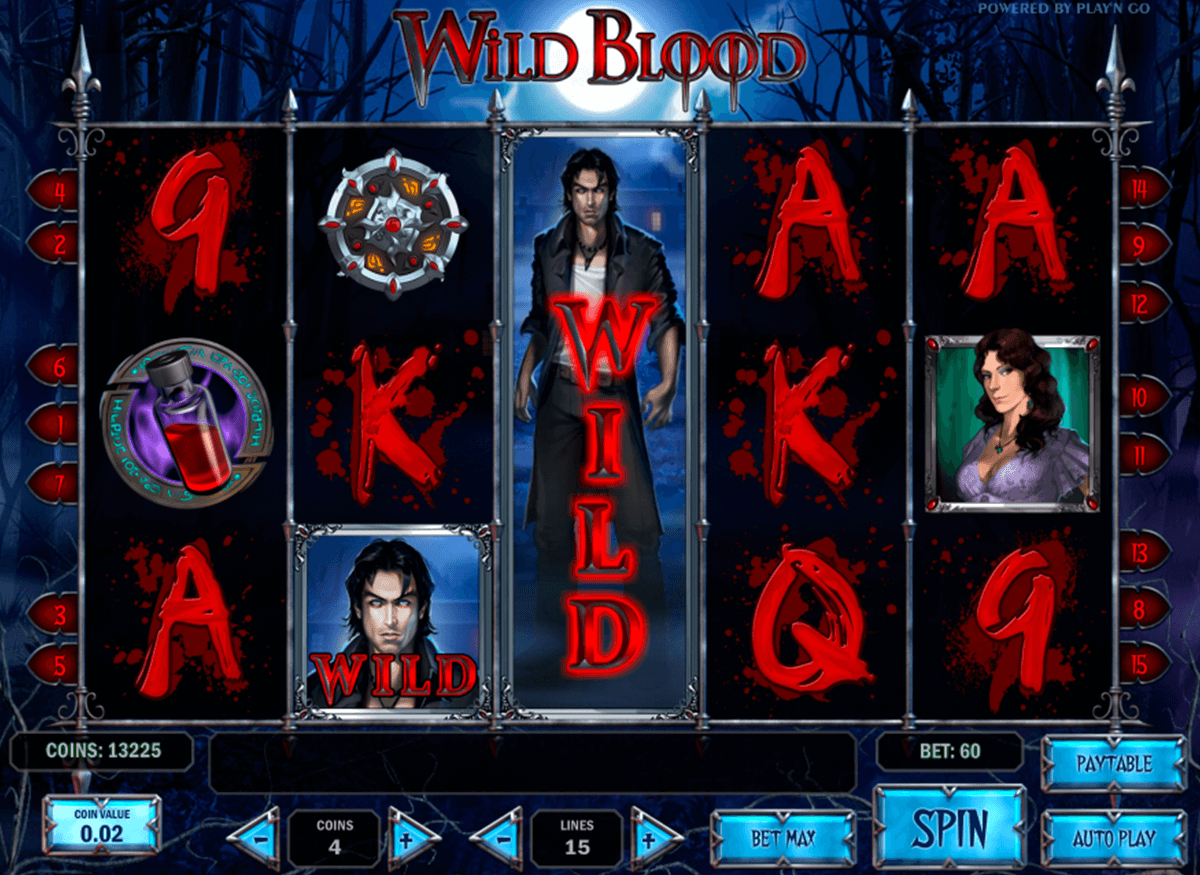 wild blood playn go automat pa nett
