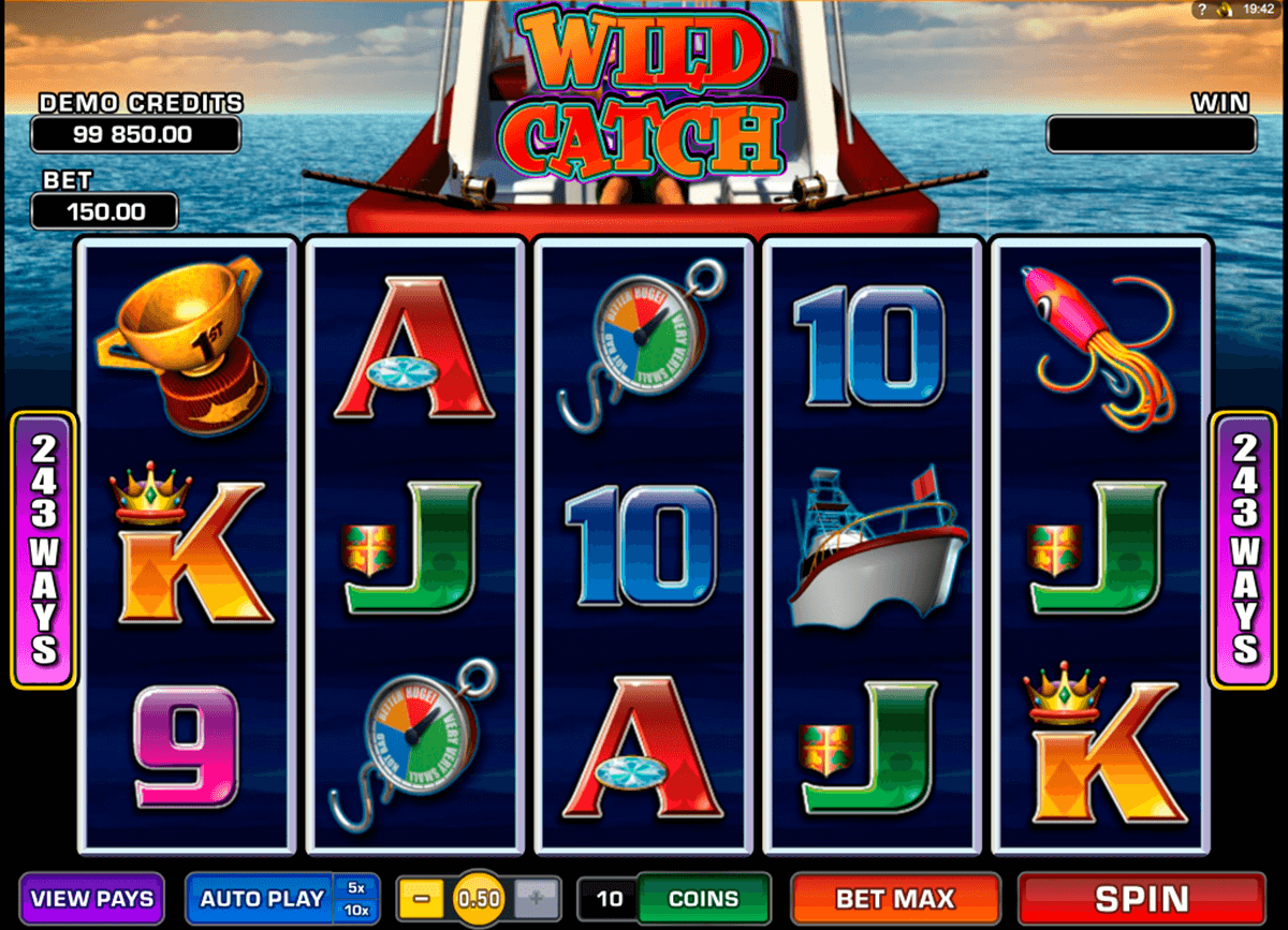 wild catch microgaming automat pa nett
