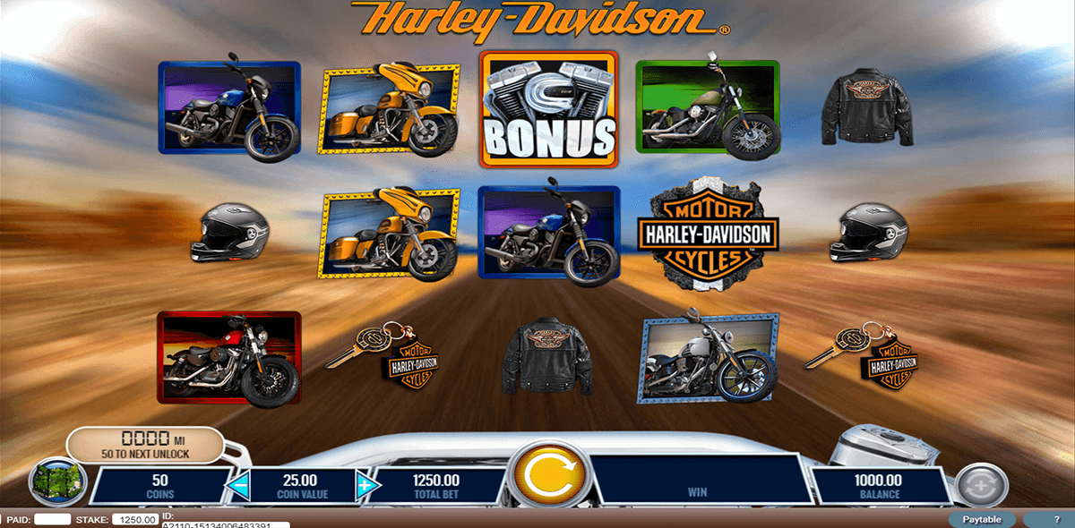 harley davidson freedom tour igt automat pa nett