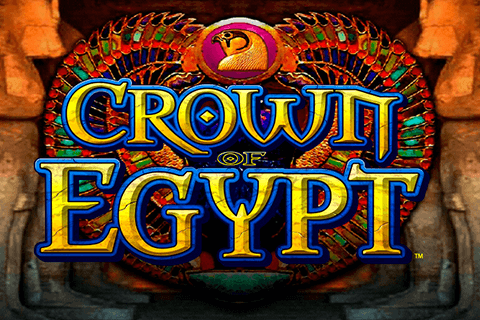 logo crown of egypt igt spilleautomat