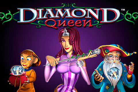 logo diamond queen igt spilleautomat