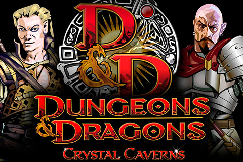 logo dungeons and dragons crystal caverns igt spilleautomat