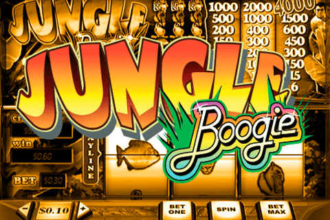 logo jungle boogie playtech spilleautomat