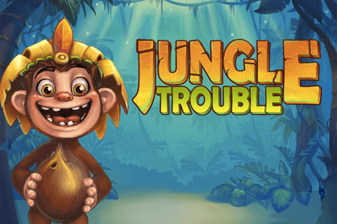 logo jungle trouble playtech spilleautomat
