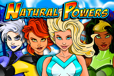 logo natural powers igt spilleautomat