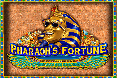 logo pharaohs fortune igt spilleautomat