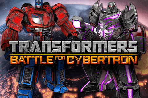 logo transformers battle for cybertron igt spilleautomat
