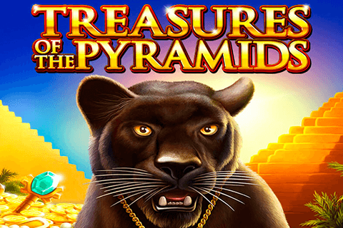 logo treasures of the pyramids igt spilleautomat