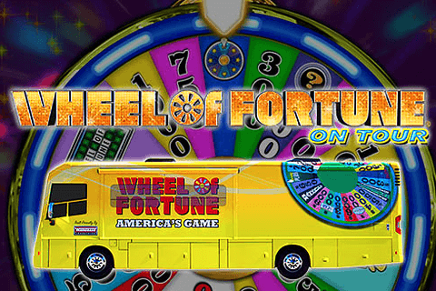 logo wheel of fortune on tour igt spilleautomat