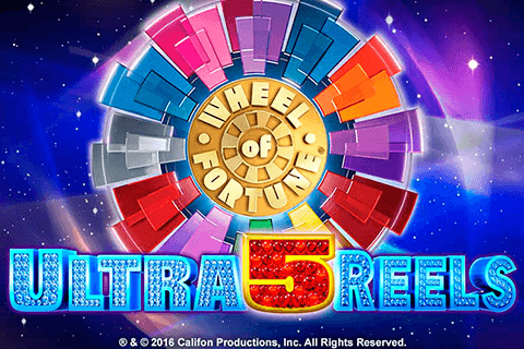 logo wheel of fortune ultra 5 reels igt spilleautomat