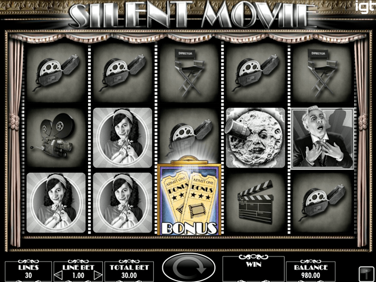 silent movie igt automat pa nett