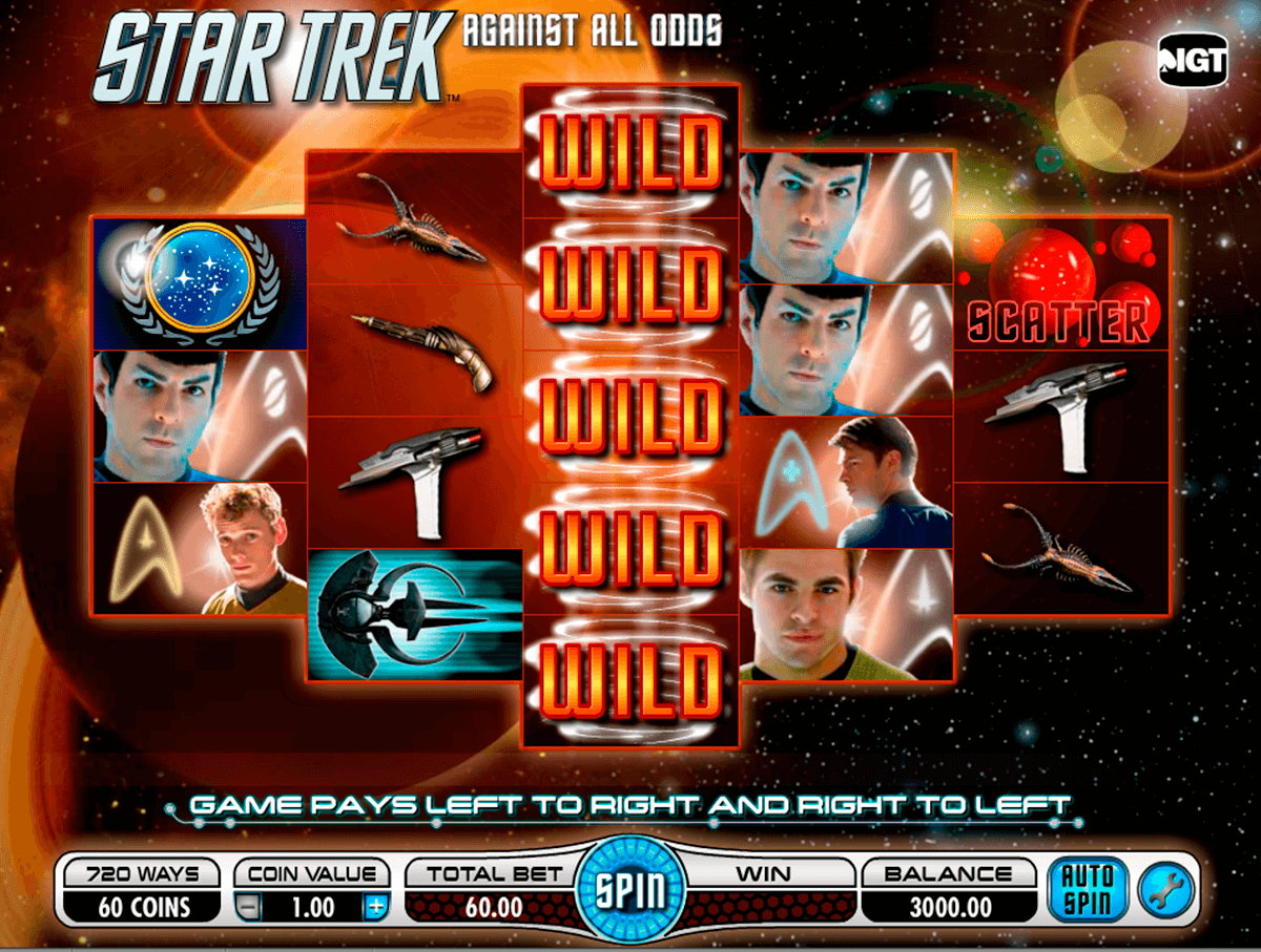 star trek against all odds igt automat pa nett