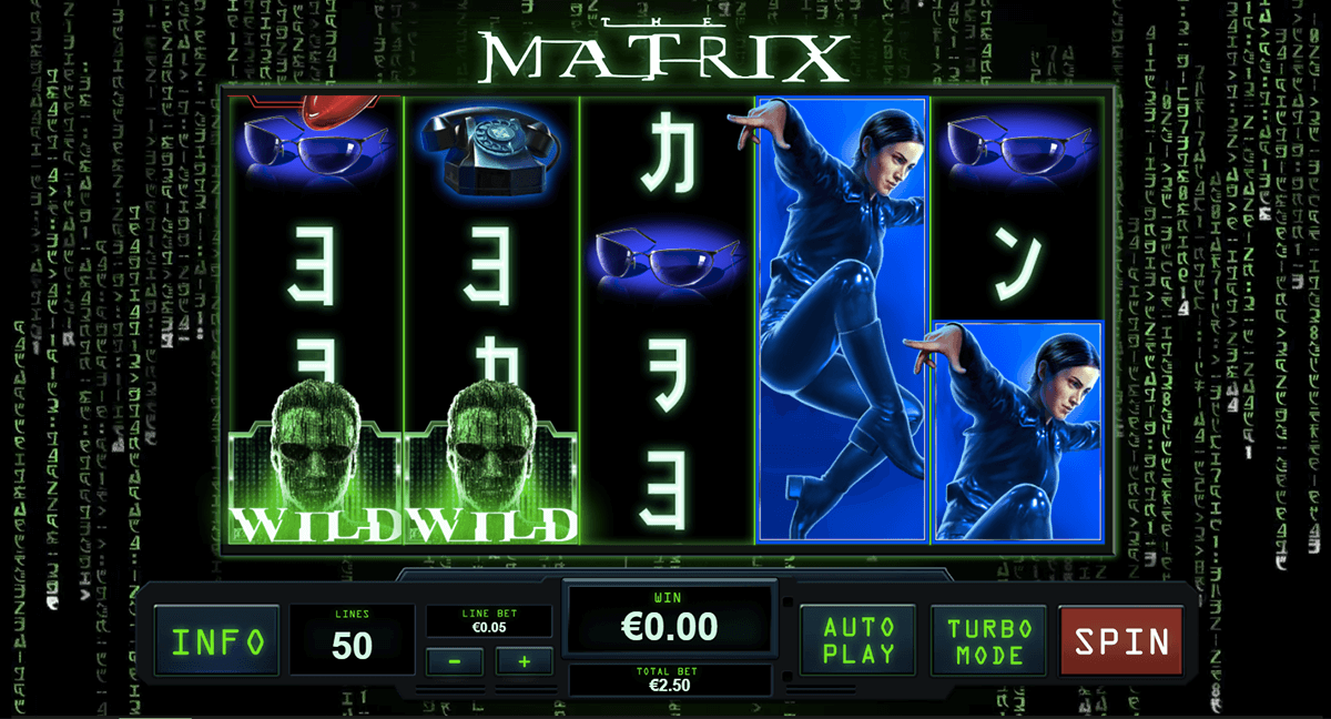 the matrix playtech automat pa nett