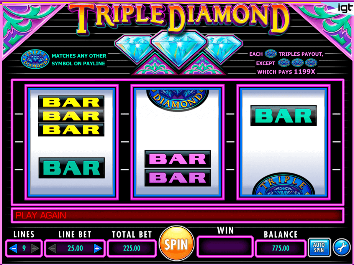 triple diamond igt automat pa nett