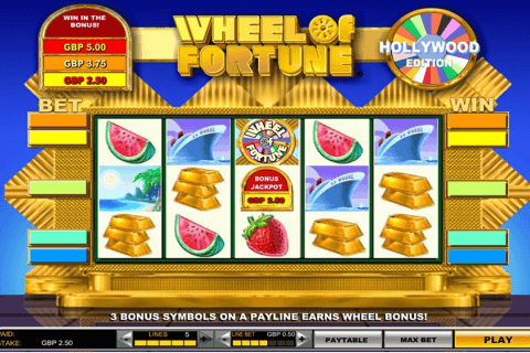 wheel of fortune hollywood edition igt automat pa nett